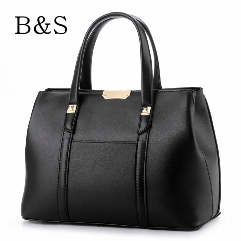 2016 New Fashion Casual Women Messenger Bags High Quality Leather Female Handbags Large Tote Bags Damen Dollar Price 8 Colors(China (Mainland))