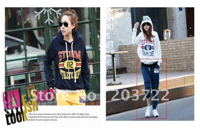 Retails 1pc Fashion sport suit, Women Hoodie, Casual Sweatshirts, Free shipping