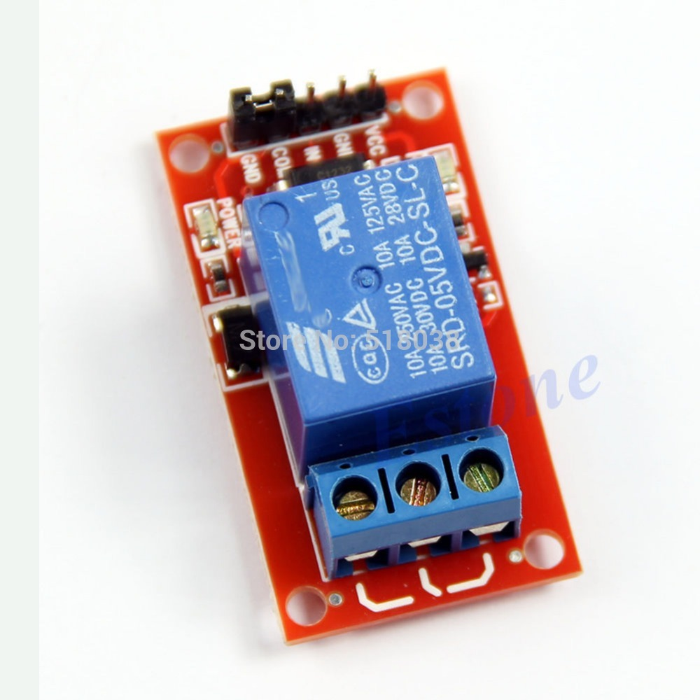 Гаджет  C18 Newest 2014  Level Triger Optocoupler Relay 1-Channel H/LModule for Arduino 5V Free Shipping None Электронные компоненты и материалы
