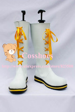 Custom made Len and Rin Kagamine Shoes boots from vocaloid Cosplay