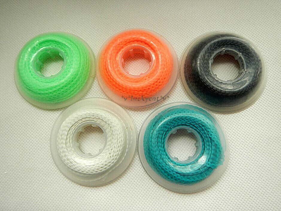 5pcs Dental Orthodontic Spool Elastic Rubber Band Power Chains Multi Color 3 Size For Choose(China (Mainland))