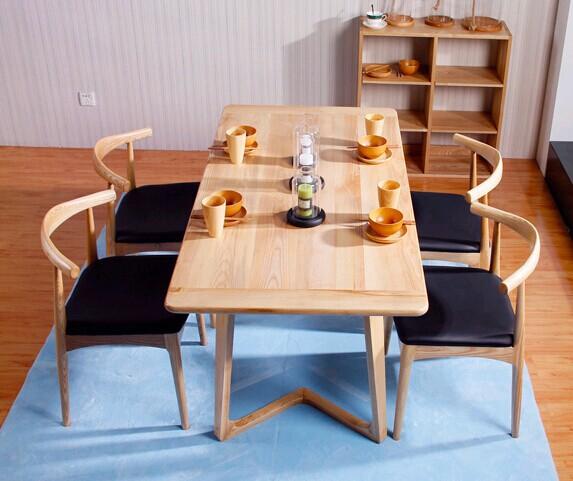 Madera de fresno mesa de comedor minimalista moderno del - Mesa comedor minimalista ...