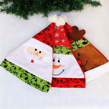 Buy New Hot Christmas Decoration Adult Red Christmas Hats Santa Claus Hats Xmas Cap Gift for $2.15 in AliExpress store