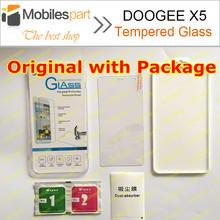 Doogee X5 закаленное стекло 100% оригинальный взрыв — доказательство и скреста — защитная пленка чехол для DOOGEE X5 Pro бесплатная доставка