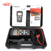Free Shipping Foxwell BT705 BT-705 12 Volt Battery Analyzer Tester Directly Detect Bad Car Cell Battery(China (Mainland))