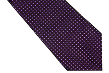NT0599 Purple Black Geometric Man s Woven Necktie New Classic Silk Polyester Party Business Casual Wedding