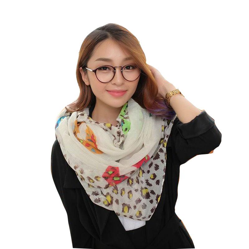 Brand Design Scarves Sexy Lips Leopard printing Woman Long viscose scarves lady big soft Stole foulard V9A18208(China (Mainland))