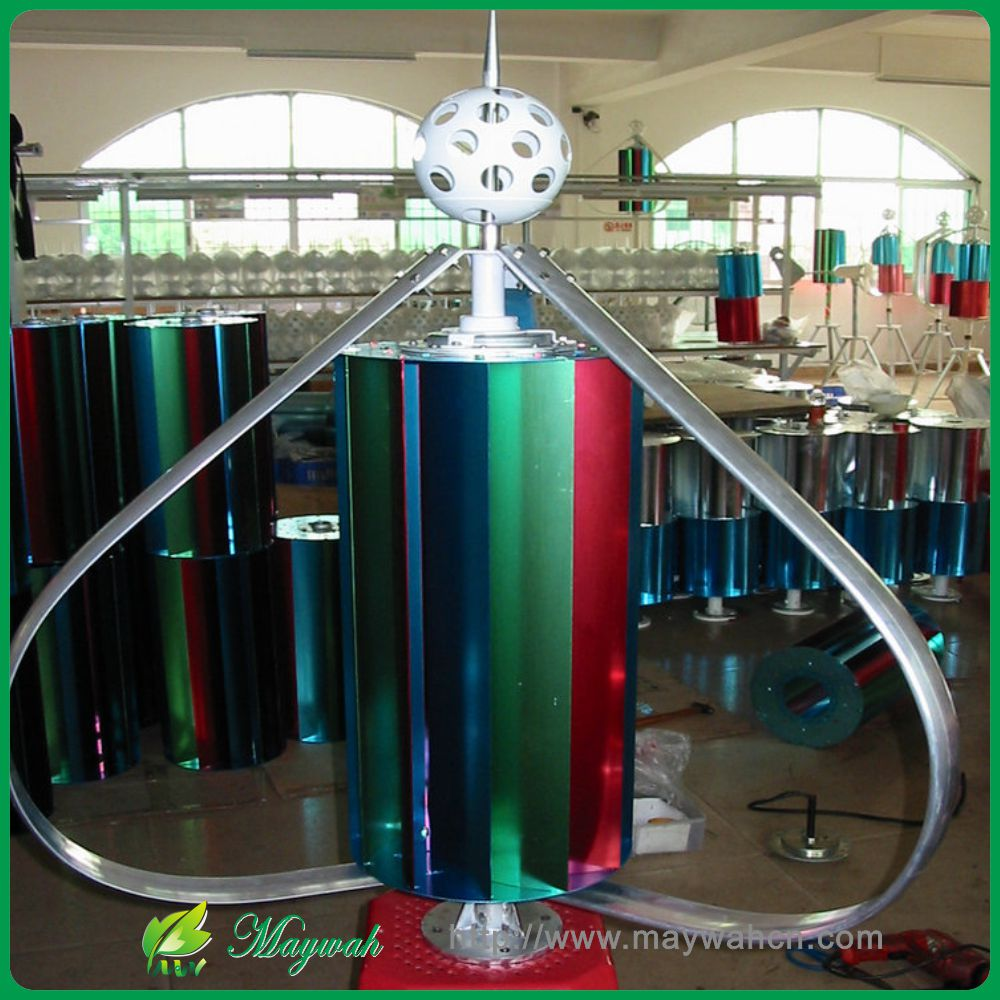 DECEN@ 12V/24V300W High Efficiency Vertical Wind Turbine Generator Low noise Low Start Wind Speed ,Easy install Max power400W,(China (Mainland))