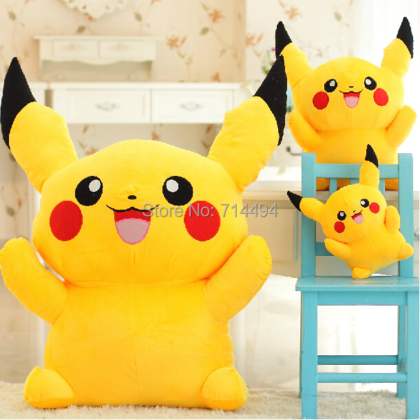 Free Shipping 23cm Special Offer Pikachu Plush Toys High Quality Very Cute Pokemon Plush Toys For Children's Gift(China (Mainland))
