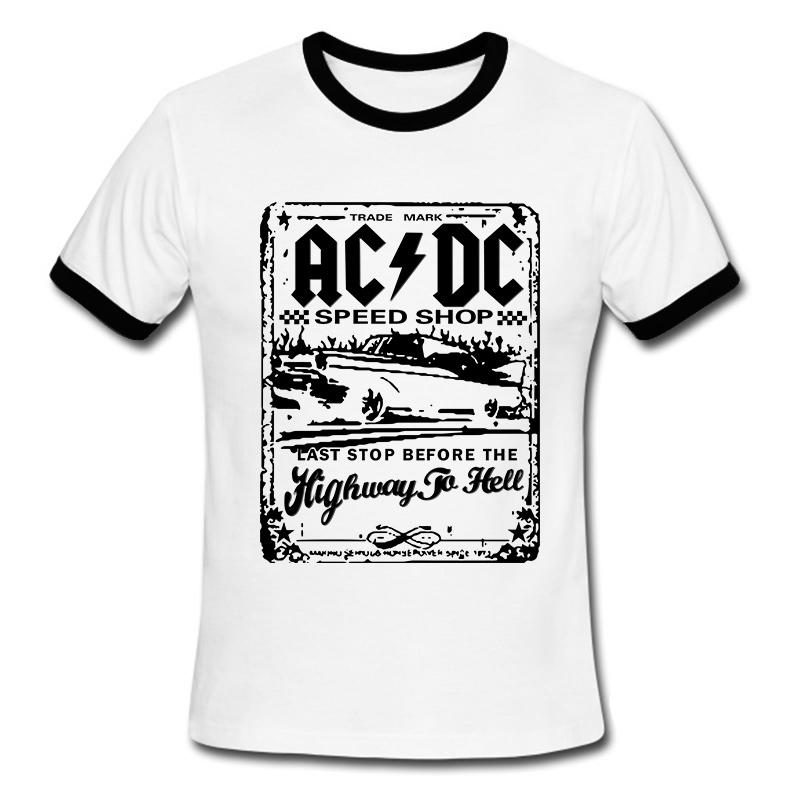New fashion camisetas ac dc speedshop t shirts mens acdc for Graphic t shirt shop