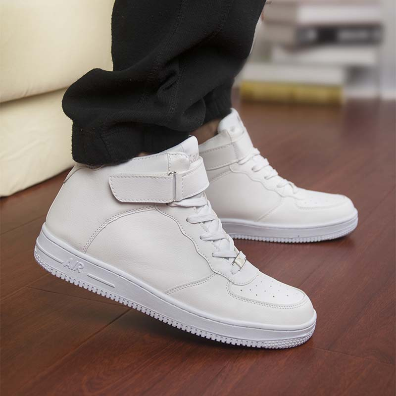 white shoes for