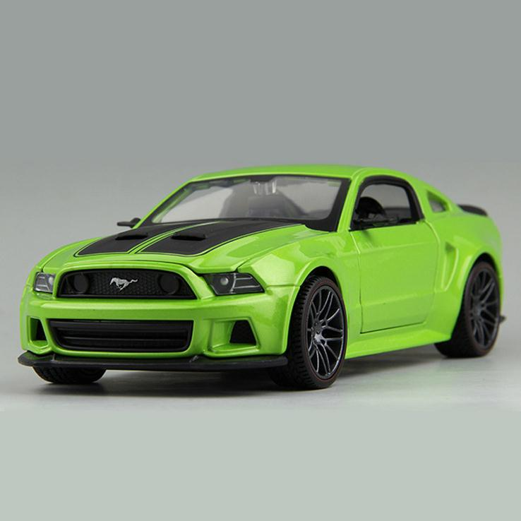 1:24 Need for Speed 2014 Mustang GT Alloy Models Free Shipping Metal Car For Collection Car Lovers Diecast Nice Mustang Models(China (Mainland))