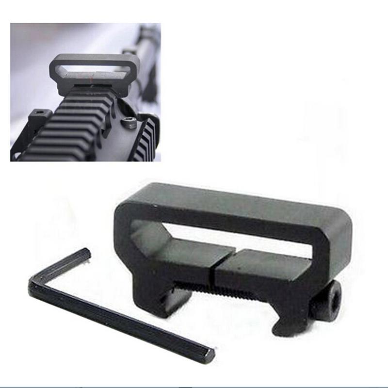 Гаджет  Hot Hunting Accessories New Tactical Adaptor Attachment Scope Sling Mount Weaver/Picatinny Rail Swivel Riflescope Mount None Спорт и развлечения