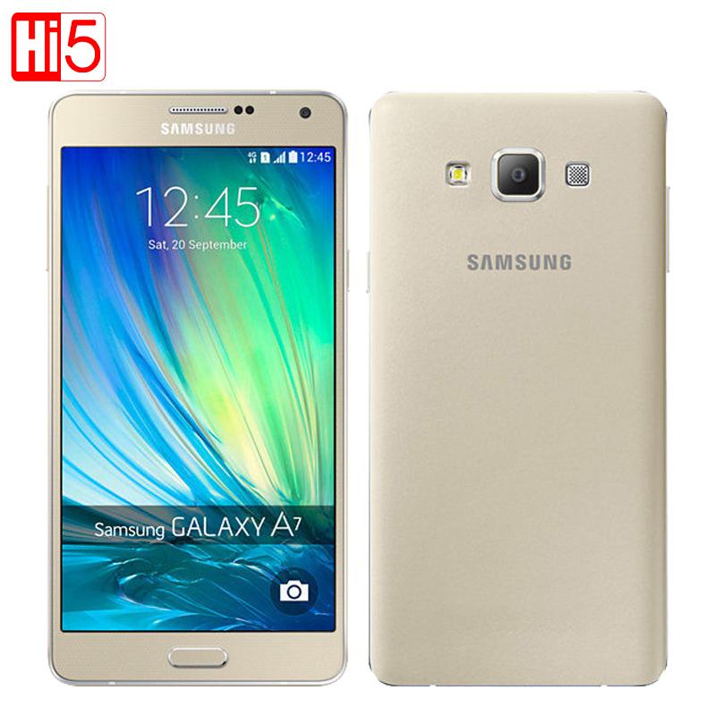 Original Samsung Galaxy A7 A7000 Mobile phone Dual SIM Dual 4G OctaCore 13MP Camera 5.5'' 1080P 2G RAM 16G ROM(China (Mainland))