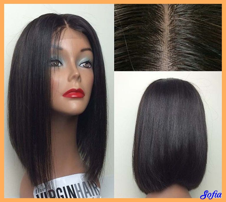 ... Bob-style-wigs-for-black-women-synthetic-lace-front-wigs-none-lace-wig