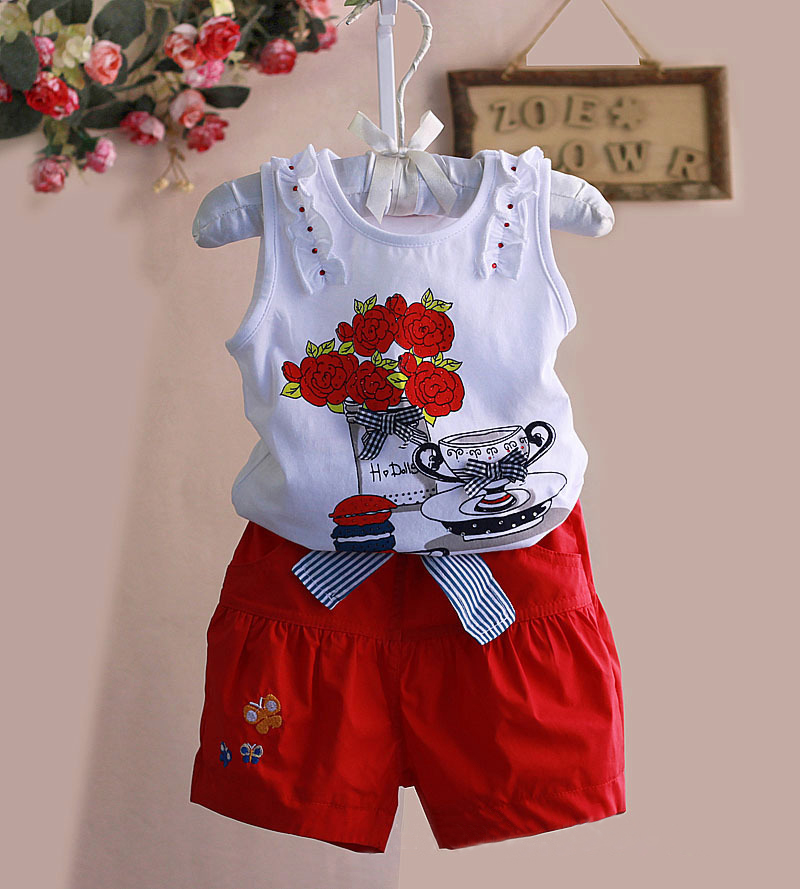 Aliexpress.com  Buy 2016 fashion spring summer children clothing sets for cute kids girls ...