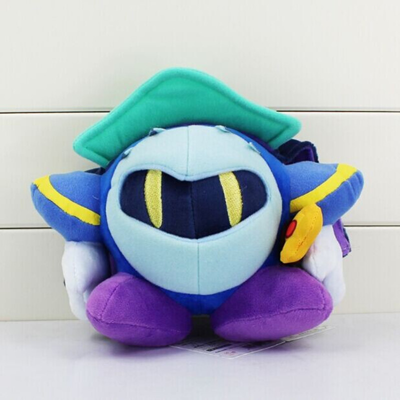 5pcs/lot Kirby Meta Knight Stuffed Plush Doll Soft Toy With Tag Gift For Children 18cm Free Shipping<br><br>Aliexpress