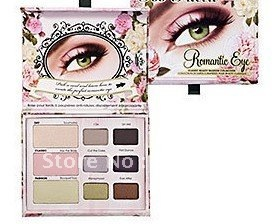 Wholesale NEW ARRIVAL 100% guaranteed romantic eye shadow palette  6pcs/lot Free shipping