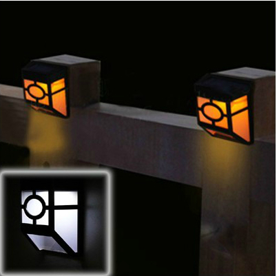 Quality Solar Wall Lights : High Quality Solar Power LED Lights & Lighting Fence Gutter Light Outdoor Garden Wall Pathway ...