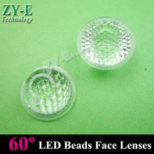 Buy 50X Led lenses 20mm led lens 60 degree without holder beads surface LED light lamps DIY! led high power lens free for $8.50 in AliExpress store