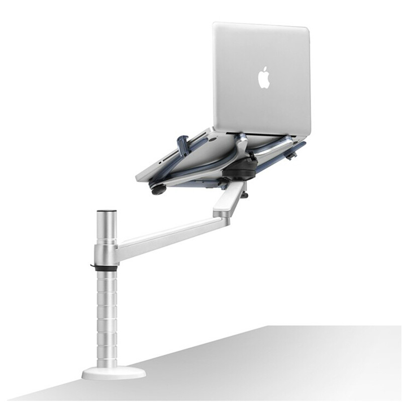 OA-1S Lazy Table Laptop Stand Adjustable Height Rotatable Holder for Notebook 10-15 inch for Tablet PC 9-10 inch Monitor Stand(China (Mainland))
