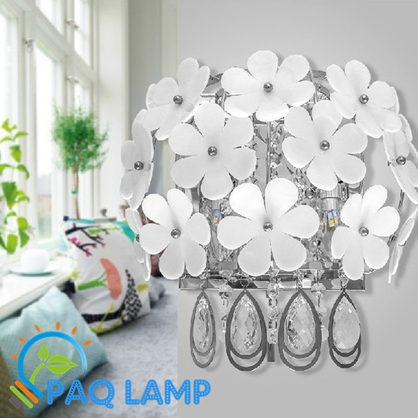 ZOMITI Crystal Wall lamp Acrylic led lights lamps have Switch for Bedroom, living room send bulb free shipping<br><br>Aliexpress