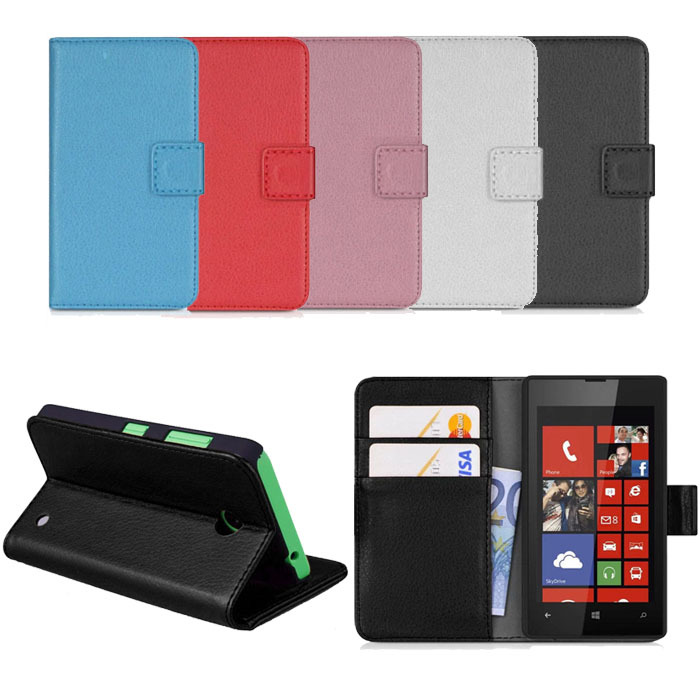 2015 Case Cover For NOKIA LUMIA 630 635 Cases Leather Wallet Pouch Flip Case Cover For NOKIA LUMIA 630 635 Freeshipping Tonsee(China (Mainland))