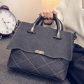 2016 winter new handbag Lingge Spiraea casual fashion handbags simple shoulder bag Messenger bag