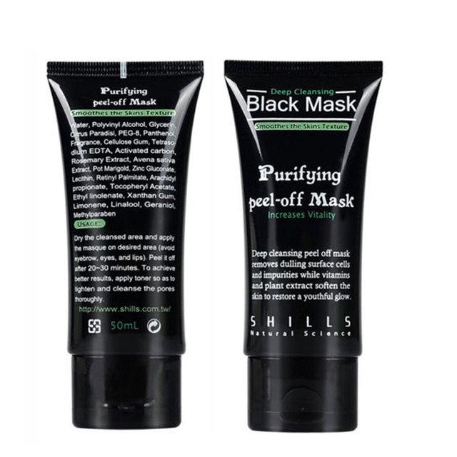 Черная маска маска угорь глубоко очистки головы лечение акне маска для ухода за кожей