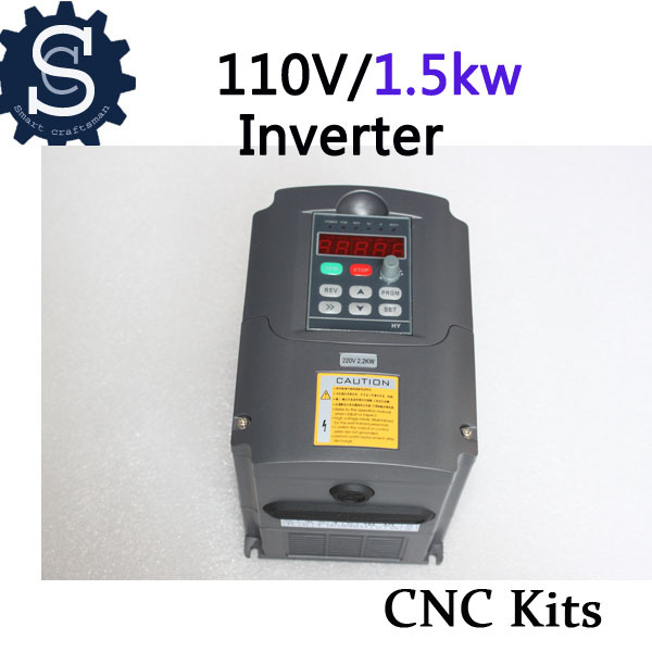 Three-phase VFD 1.5KW 110V inverter for Spindle frequency converter A022C(China (Mainland))