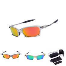 Original Quality Mens Polarized Sunglasses X Square Metal Sun Glasses For Men Women Brand Designer Squared 2015 New Fashion