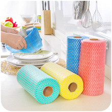 vanzlife kitchen Non-woven disposable wipes 50 more free cutting with a clean cloth wash cloth(China (Mainland))