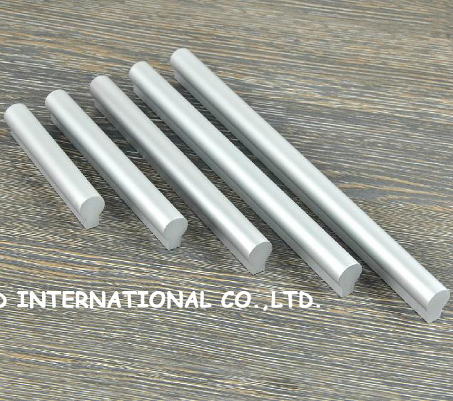160mm nickel color Free shipping aluminum alloy Furniture handle for Cabinet<br><br>Aliexpress