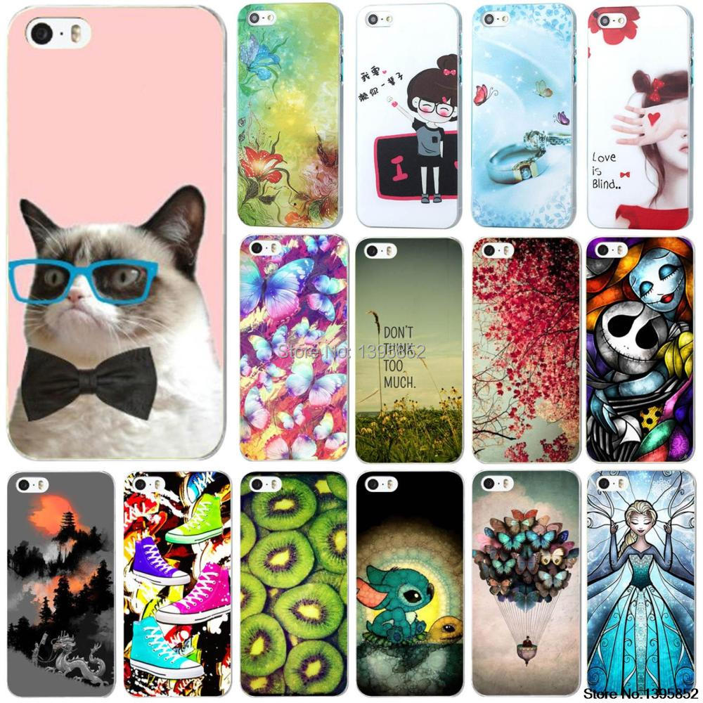 Special Discount Plastic Case for IPhone 4 4S Hot Sale Beautiful Colored Drawing Painted Pattern Protective Hard Skin(China (Mainland))