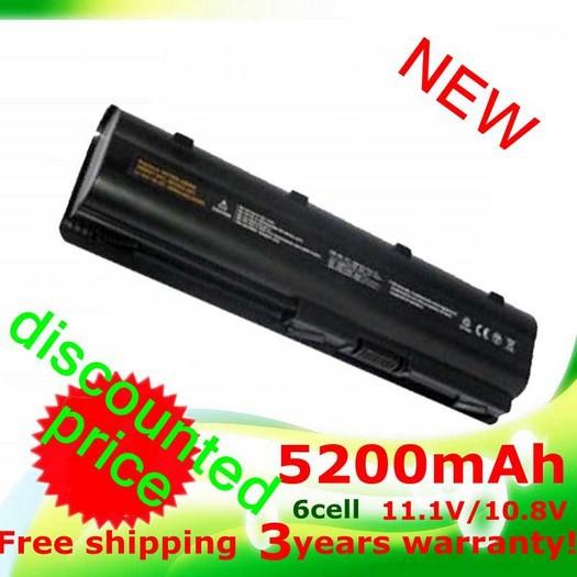 5200mAh battery for HP PAVILION DM4 DV3 DV5 DV6 DV7 G4 G6 G7 G72 G62 G42 for Compaq Presario CQ32 CQ42 CQ43 CQ56 CQ62 CQ72 MU06(China (Mainland))