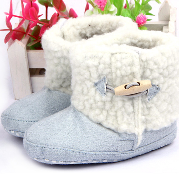 2015 Hot Sale Winter Baby Boys Girls Cotton Boots Infant Anti Slip Snow Boots Prewalker Shoes(China (Mainland))