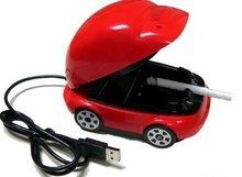 USB smokeless Ashtray Active Carbon Filter Smokeless Ashtray,smokeless car ashtray(China (Mainland))