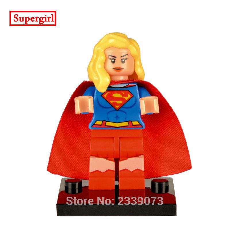 ZXZ Superwoman DIY Blocks Single Sale DC Comics Super Heroes Batman Models & Building Toy Blocks Children