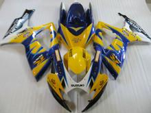 Buy Motorcycle Fairing kit SUZUKI GSXR600 750 K6 06 07 GSXR 600 GSXR 750 2006 2007 ABS Yellow blue Fairings set+7gifts SC09 for $345.96 in AliExpress store