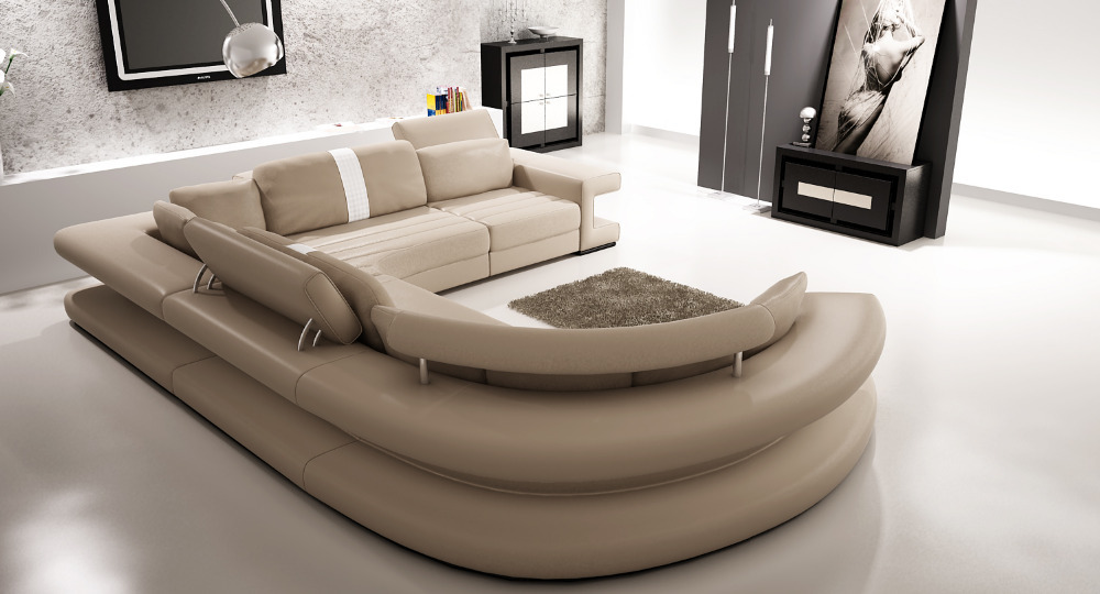 big u shape 2014 hot selling in germany living room couch modern. Black Bedroom Furniture Sets. Home Design Ideas