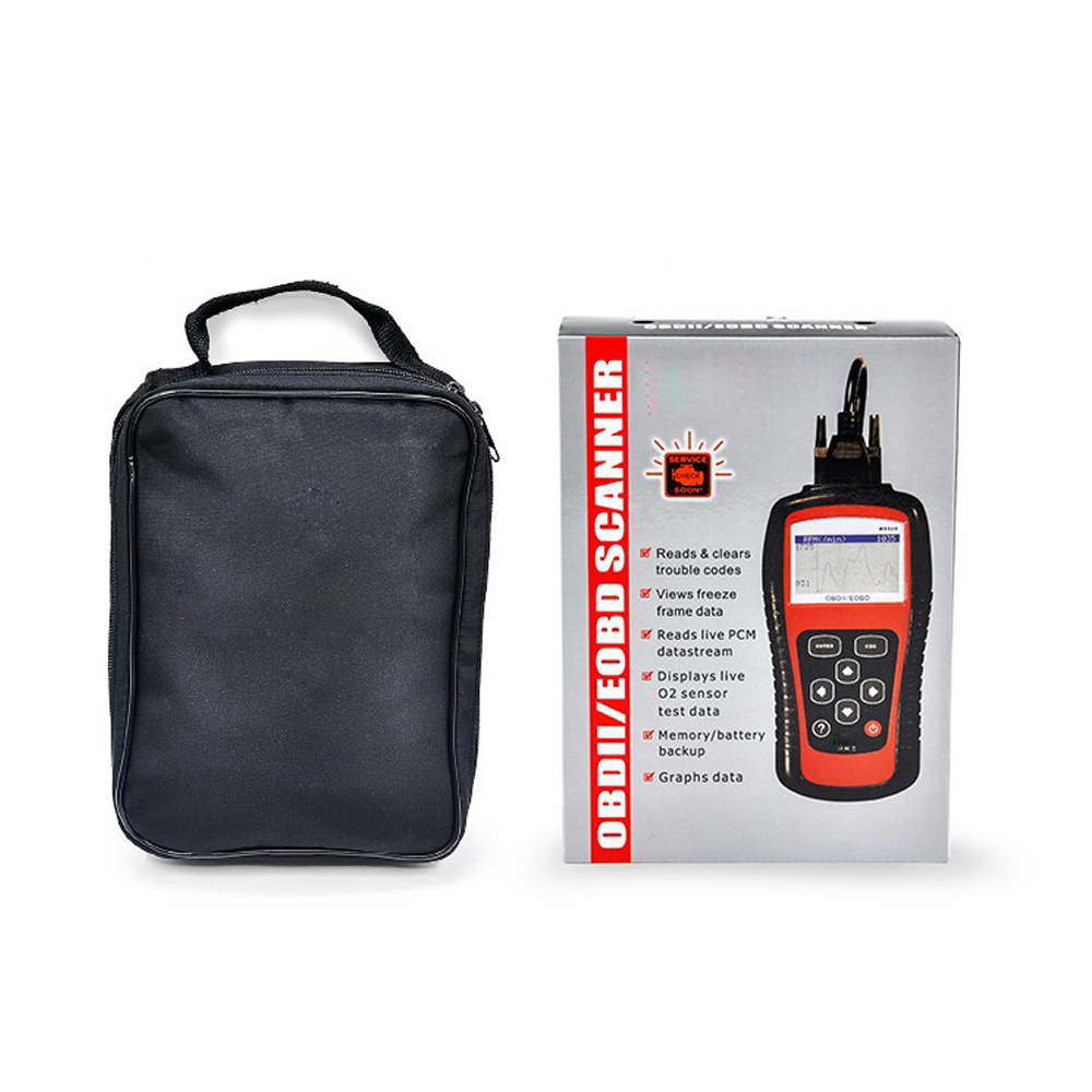 Free shipping 2016 newest Autel MaxiScan MS509 OBDII / EOBD Auto Code Reader MS 509 OBD 2 scanner(China (Mainland))