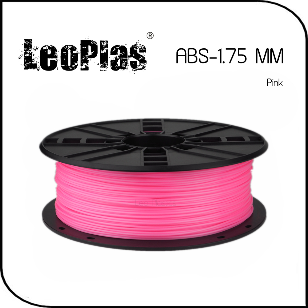 Worldwide Fast Express Within 7 Days Direct Manufacturer 3D Printer Material 1 kg 2.2 lb 1.75mm Pink ABS Filament(China (Mainland))