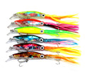 HENGJIA Lot 5Pcs Soft Plastic <font><b>Fishing</b></font> lures Frog lure With Hook Top Water 5.5CM 8G Artificial Fish Tackle