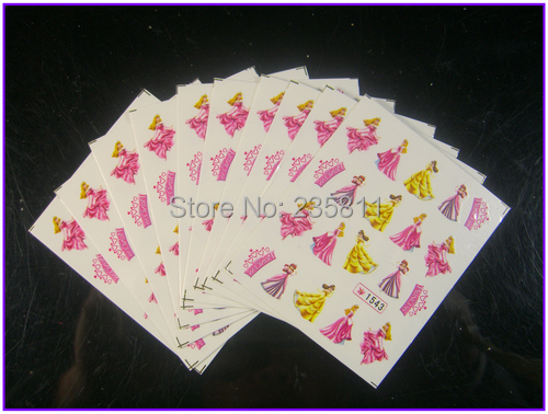 1/ LOT Nail Art Water Transfers Stickers Decals Decal Cartoon Animation Animal Fish Rabbit - Jenny's nail beauty store