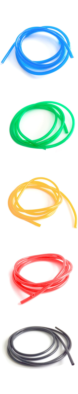Colorful PVC tube