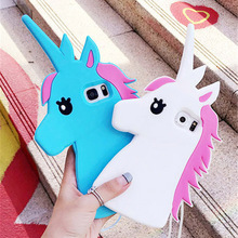 Buy Hot Fantastic Cartoon Unicorn Horse Soft Silicone Phone Cases Cover Samsung Galaxy S3 S4 S5 S6 S6Edge S7 S7Edge Note 3/4/5 for $3.99 in AliExpress store