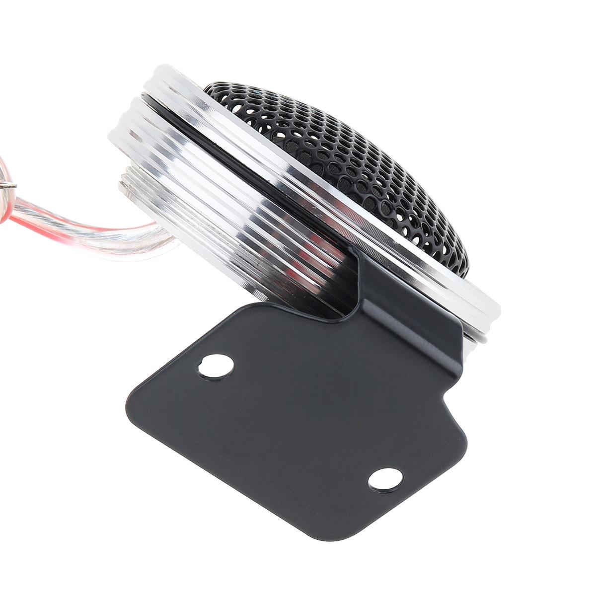 2x YH-T26 150W Mini Dome Car SUV Audio Tweeter Speaker for Car Audio System 12V