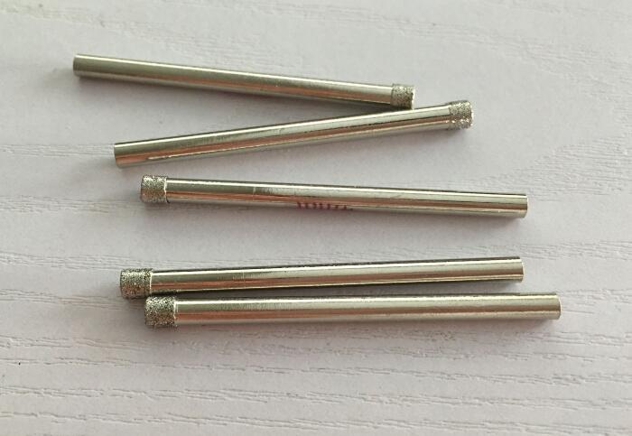 10PCS 4MM marble glass diamond core drill bit ceramic tile Bead knife glass dilator Glass drill bit(China (Mainland))