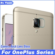 Back Camera Lens Protective Transparent Clear Tempered Glass Protector Film OnePlus One Plus X 2 3 3T Two Three - Rs Team store