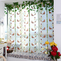 Light Filtering Fabric Fold Roman Shade Butterfly Printed Window Curtains For Liiving Room Curtains Window